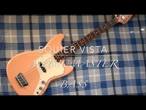 Fender Squier Vista Series Mustang Bass