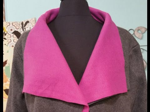 Angela Wolf Sews a Polar Fleece Jacket on It\'s Sew Easy (1003-1 ...