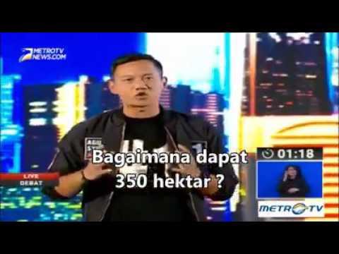 Debat Pilkada DKI Jakarta Session II Agus Ga Nyambung, LUCU!!!