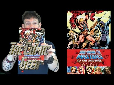 Masters of the Universe Mini Comic Collection Book Review - He-Man!