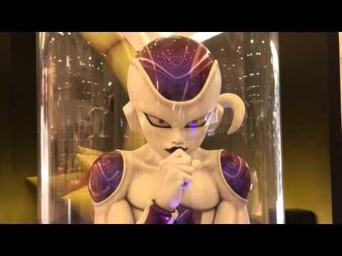 【ドラゴンボールファン必見】お台場にしゃべるフリーザロボットが出現!
