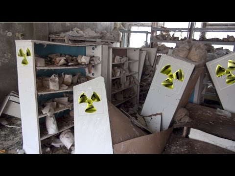 the highly radioactive kindergarten laboratory of Pripyat
