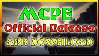 MCPE 0.13.0 OFFICIAL RELEASE APK DOWNLOAD