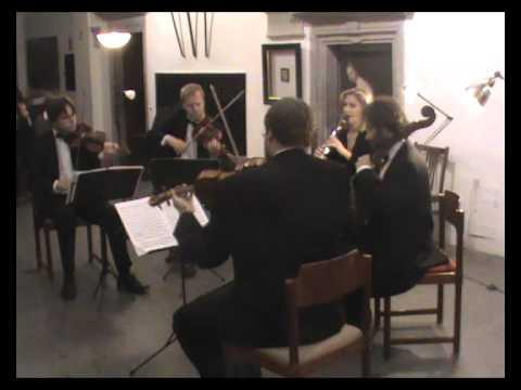 Weber: Clarinet Quintet in B flat, op. 34
