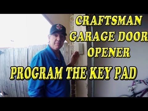 craftsman-garage-door-opener-how-to-program-the-key-pad