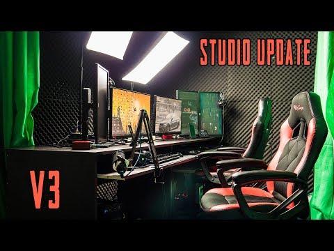 Streamer gép, Új elrendezés, Új asztalok | STUDIO UPDATE LIVE v3