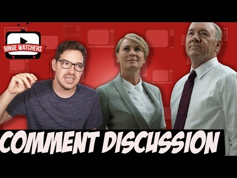 HOUSE OF CARDS Season 5 COMMENT DISCUSSION (Spoilers)