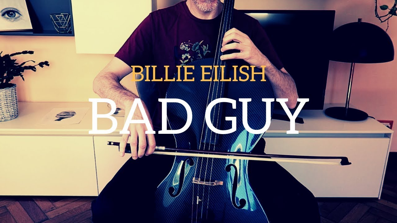 Billie Eilish - Bad guy for cello (COVER)