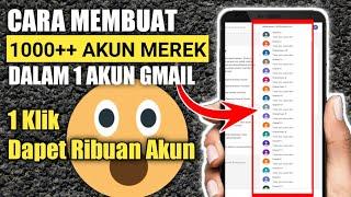 Cara Membuat Akun Gmail Dengan Cepat 1000 Akun Gmail Mudah Banget Youtube Cute766
