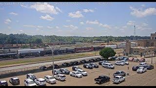 Texarkana,  Arkansas USA   Virtual Railfan LIVE