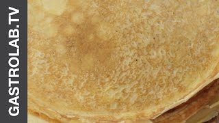 Crepes (thin Pancakes) || Romantic Breakfast || Gastrolab