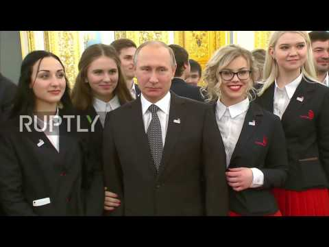 Russia: Putin welcomes