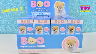Boo Series 2 World 39 s Cutest Dog Blind Bag Plush Unboxing Review PSToyReviews