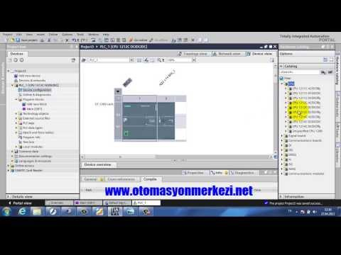 Siemens S7-1200 PLC Eğitimi- Bölüm-1