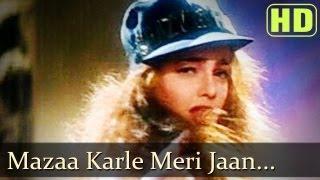 Mazaa Karle Meri Jaan - Govinda - Mamta Kulkarni - Andolan Songs - Alka Yagnik - Bali Brahmbhatt