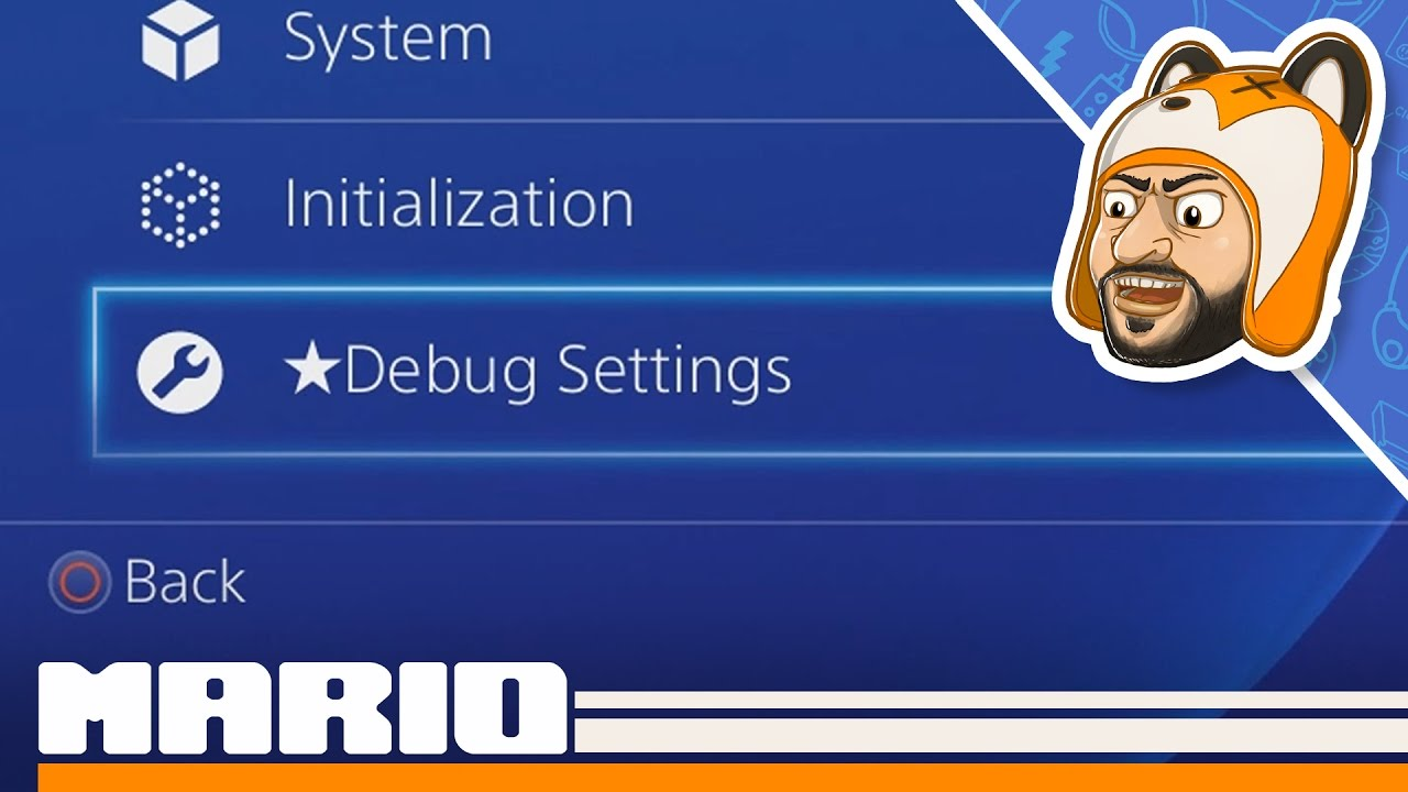 How to Activate Debug Settings on PS4! [1 76 & Below]