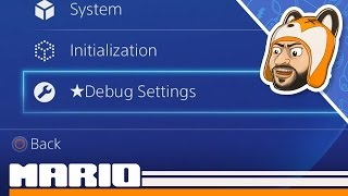 How to Activate Debug Settings on PS4! [1.76 & Below]