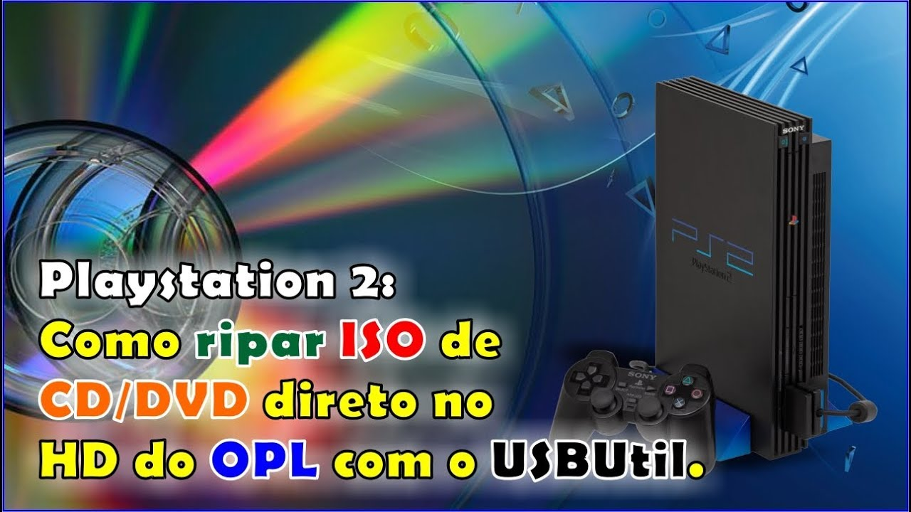HOW TO RIP ISO FROM PS2 DVD