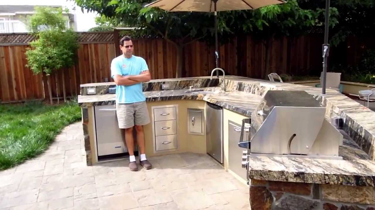 Barbecue Island With Summerset Tr Grills Cupertino Ca