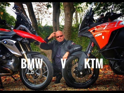 What's best? - BMW R1200GS v KTM 1290 Super Adventure