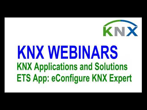 KNX Applications and Solutions Webinar   eConfigure App featuring Schneider Electric