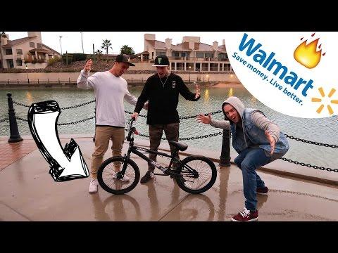 $99 BMX RIDE & RETURN CHALLENGE! ft Logan Martin & Jeremy Malott