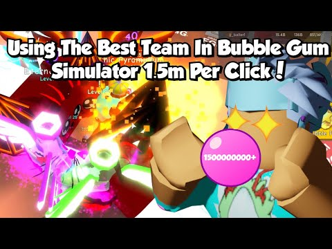 Roblox Bgs Got The Best Team In The Game🤩7 Mythic Secret Pets(1.5 MILLION Bubbles Per Click😱)