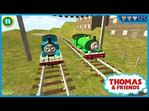 Thomas and friends โทมัสและผองเพื่อน รถไฟโทมัส เกมส์รถไฟ รถไฟไฟ้า รถไฟใต้ดิน