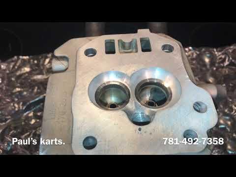 PREDATOR 212 engine build **FULL RADIUS ** valve pockets mini bike drag racing WELDED HEAD
