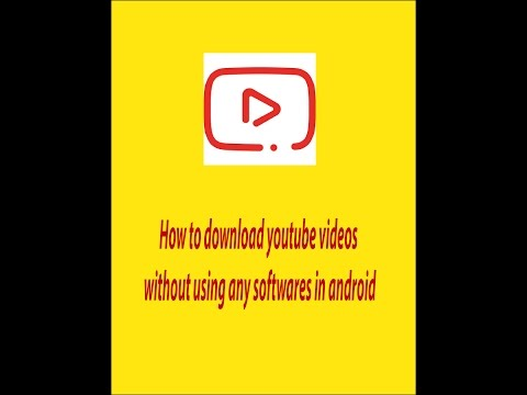 How to downlaod youtube videos without any...