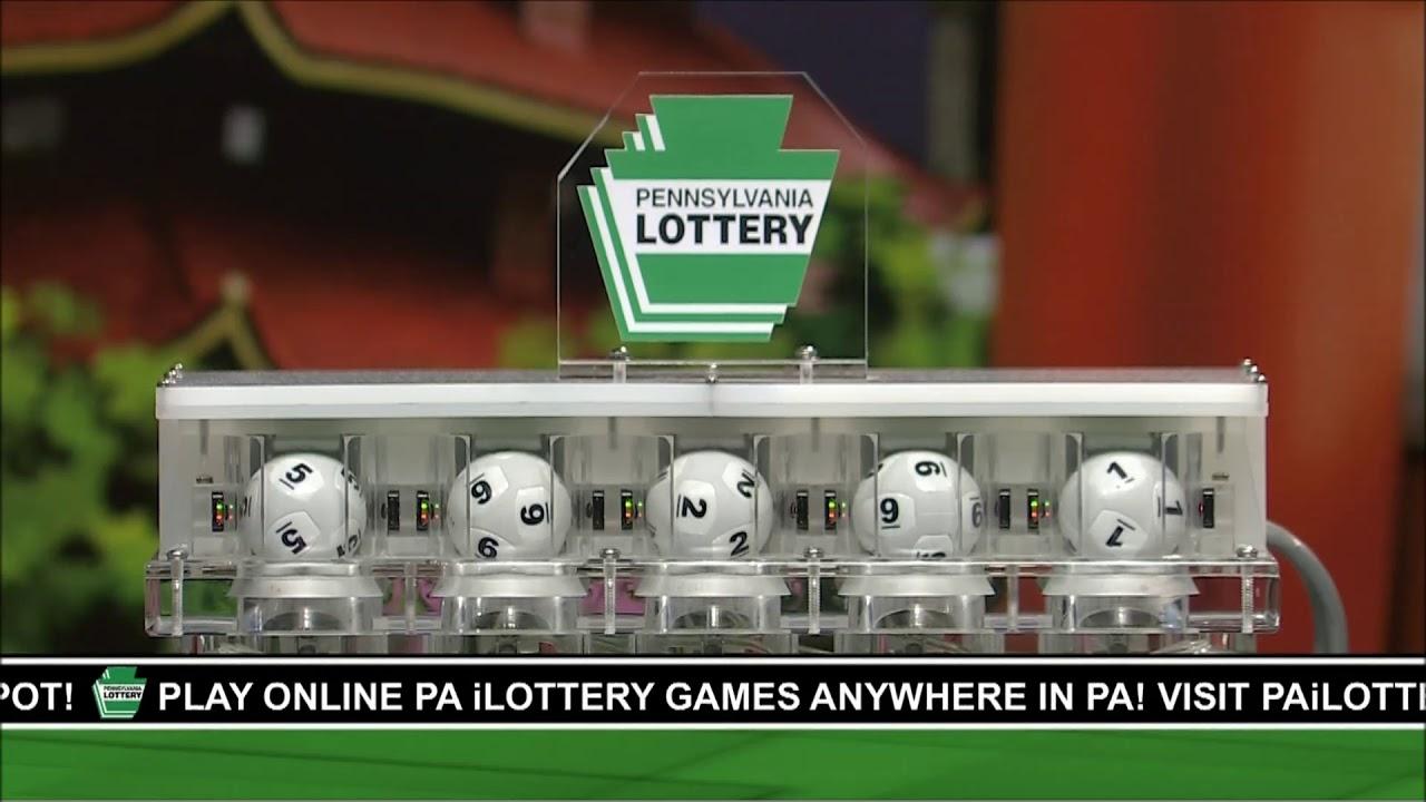 Pennsylvania Lottery Saturday September 29 2018 Evening Drawing