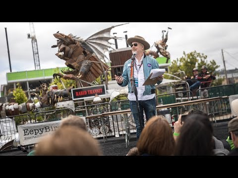 Adam Savage's Maker Faire 2018 Talk!