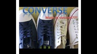 Begini kualitas sepatu converse made in vietnam