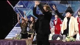 Yoonmirae&DynamicDuo&Gaeri @SBS MUSIC FESTIVAL 가요대전 20111229