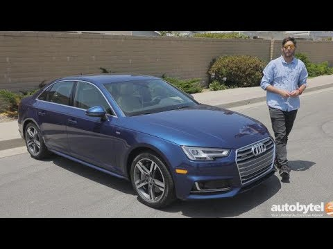 2017 Audi A4 Test Drive Video Review