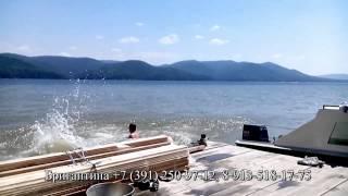 видео База отдыха Дивный на Красноярском море