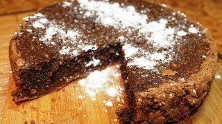 Рецепт Брауни ( Шоколадный бисквит )