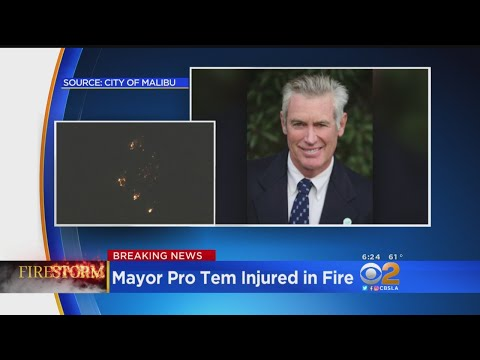 Malibu Mayor Pro Tem Injured Trying To Save Home In Woolsey Fire