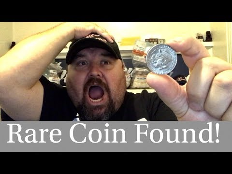 I Cant Believe My Eyes! Rare Variety Found! Half Dollar Coin Roll Hunting!