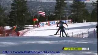 Биатлон. Кубок Мира 2010/2011. 9 этап. Масс старт (женщины)