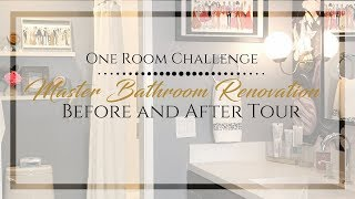 Chic Master Bath Renovation | Before and After Tour