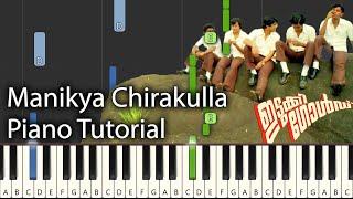 Manikya Chirakulla Piano Tutorial Notes & MIDI   Idukki Gold   Malayalam Song