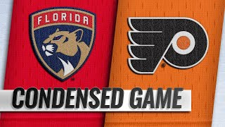 11/13/18 Condensed Game: Panthers @ Flyers