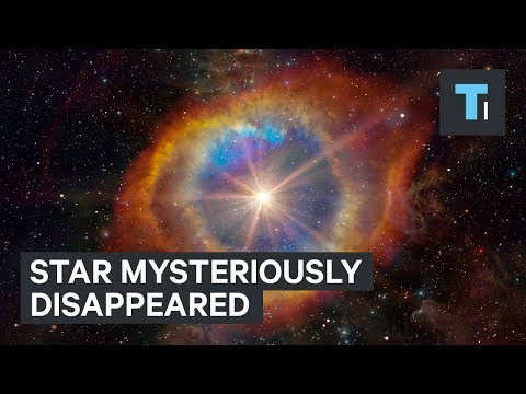 Supermassive star mysteriously disappeared without warning