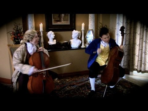 2CELLOS - Thunderstruck [PARODY VIDEO]