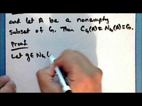 [old series] Abstract Algebra Lecture 18 Part 1