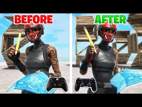How To Become A Mechanical GOD On Controller Fortnite! (Fortnite Tips PS4 + Xbox)