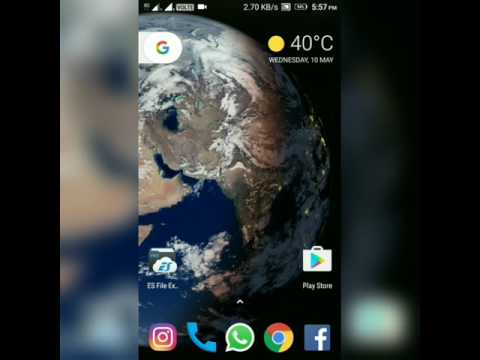 The Actual Live Earth Wallpaper Ported For Android 7.1.1