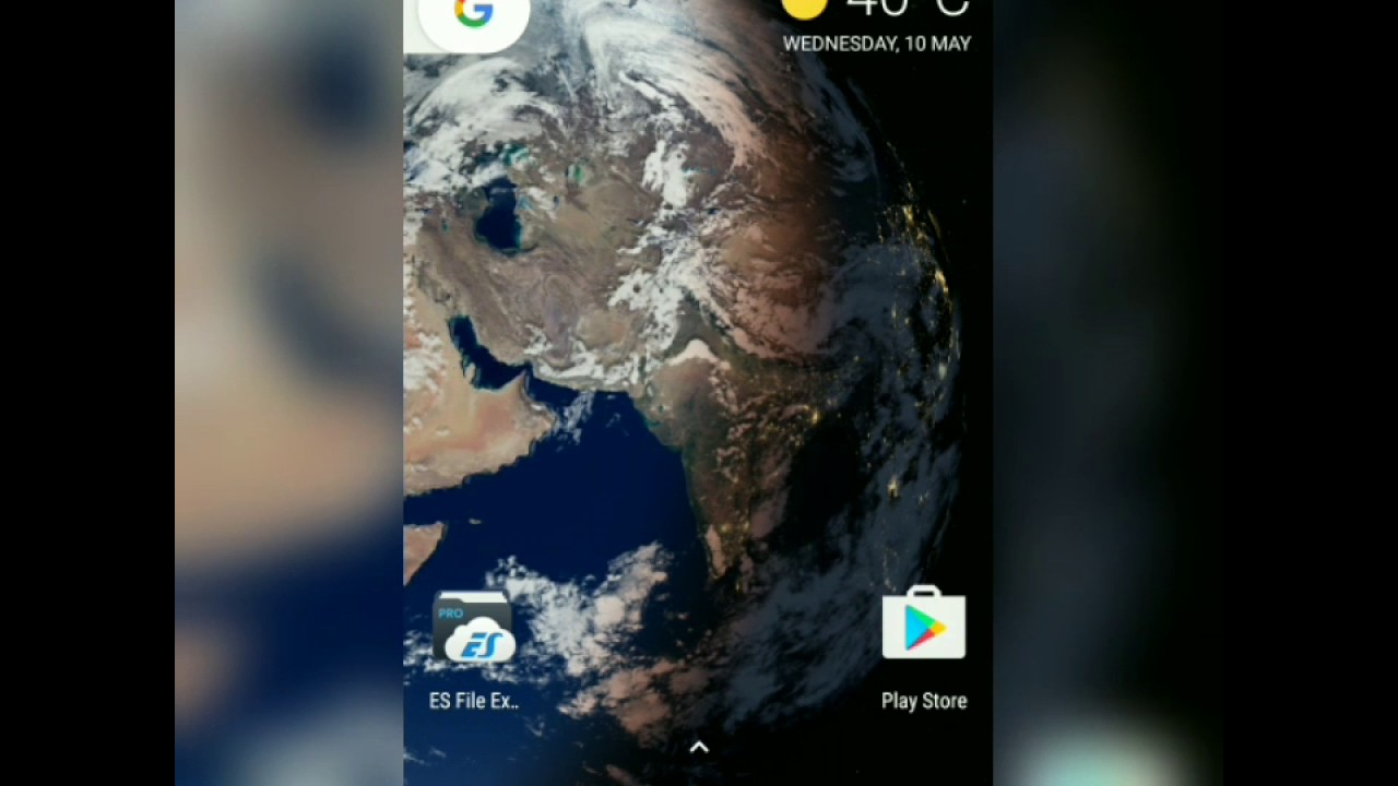 The actual Live Earth Wallpaper ported for Android 7 1 1   YouTube The actual Live Earth Wallpaper ported for Android 7 1 1