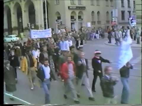 """CSD München 1980 """"Schwul na und?"""""""